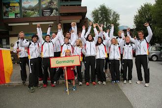 Photo: Team Germany - Wildwasserteam der Junioren in Lofer 2013