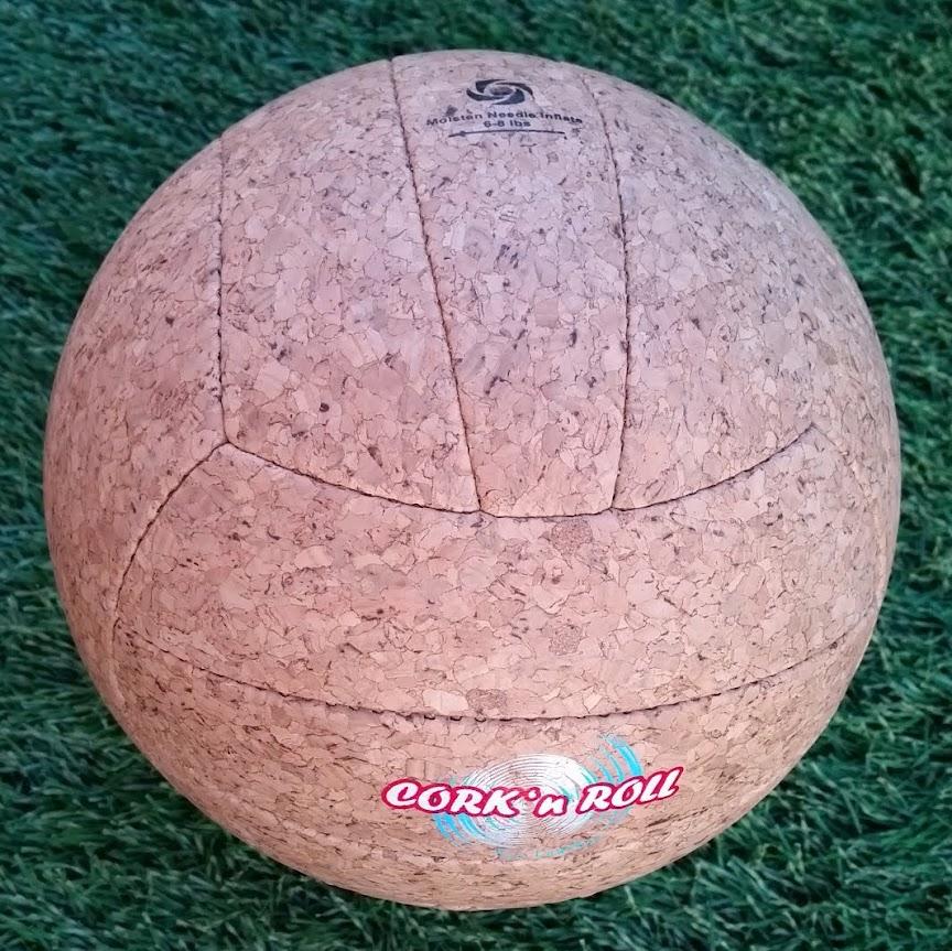 Volleyball aus veganem Leder Korkvolleyball