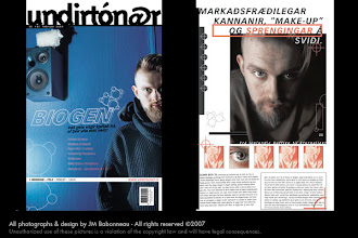 Photo: Undirtónar, music magazine,  in Reykjavík, Iceland (2000) © photos by jean-marie babonneau all rights reserved http://www.betterworldinc.org