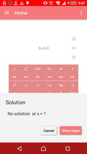 Math and Equation Auto Solver