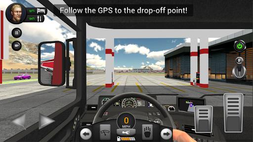 Real Truck Driving Simulator filehippodl screenshot 10