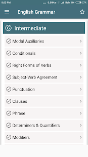 App English Grammar Complete Handbook APK for Windows Phone