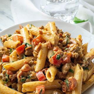 Creamy Italian Sausage and Tomato Pasta Recipe