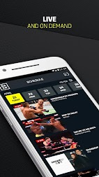 DAZN Live Fight Sports: Boxing, MMA & More APK screenshot thumbnail 3
