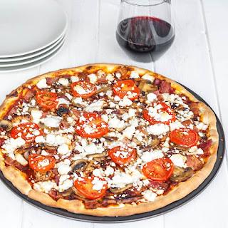Chicken and Feta Pizza.
