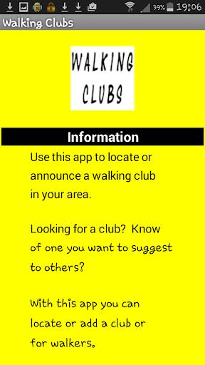 Walking Clubs