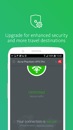 Avira Phantom VPN: Free & Fast VPN Client & Proxy - screenshot