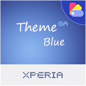 COLOR™ XPERIA Theme | BLUE
