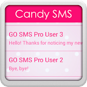 GO SMS Pro Candy