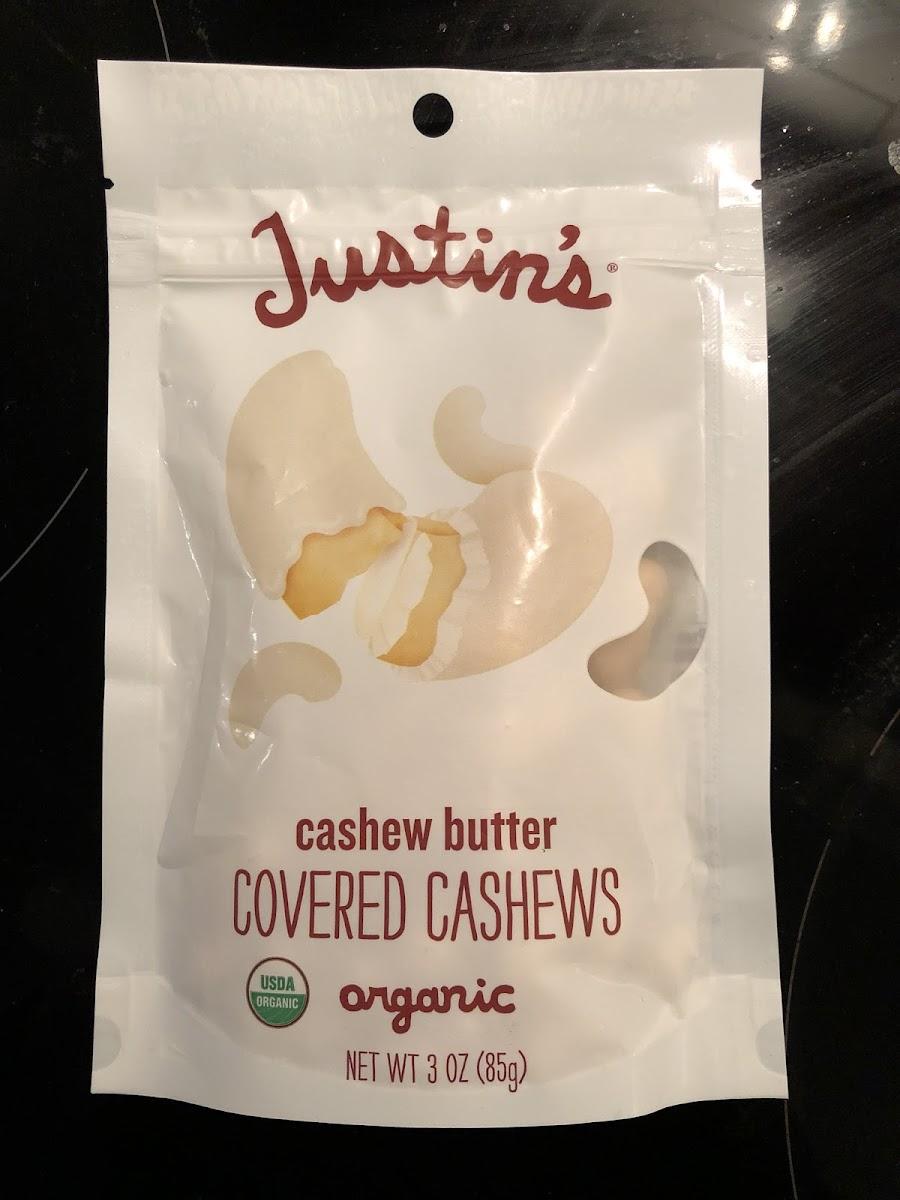 Cashew Butter Covered Cashews