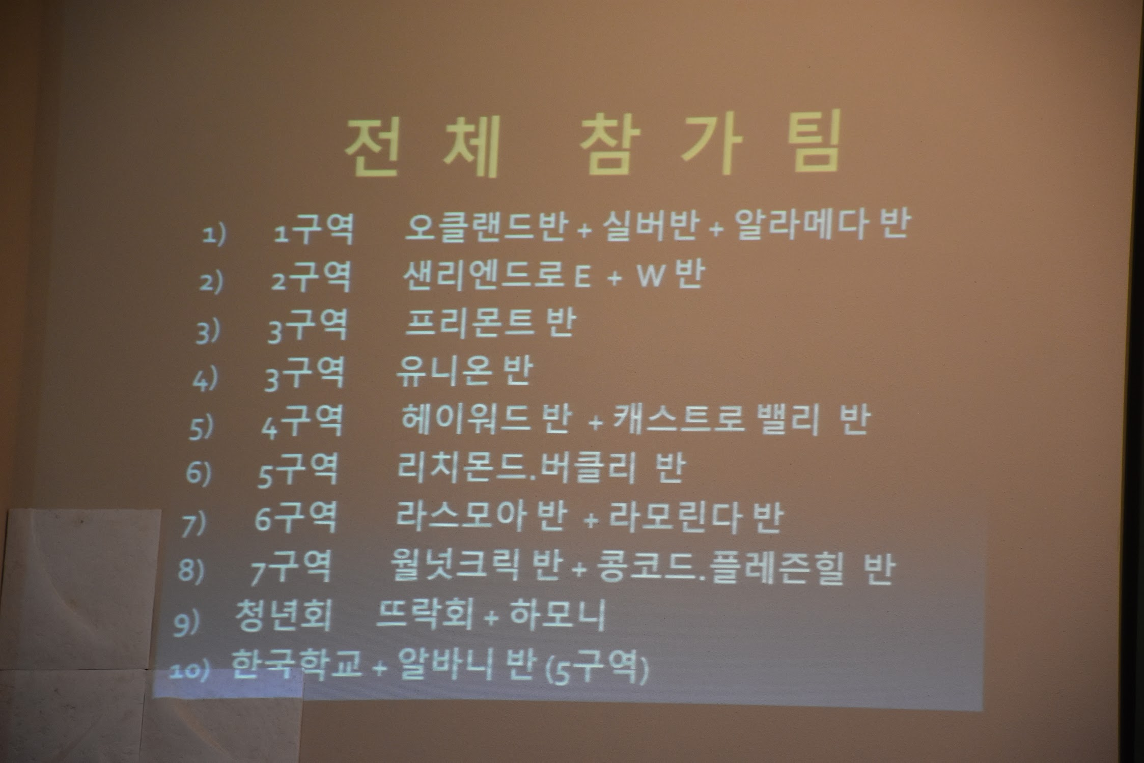 위령성월 연도대회