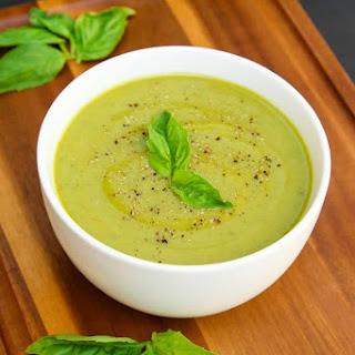 Velvety Zucchini Basil Soup.