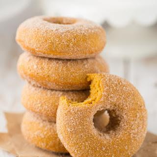 Pumpkin Doughnuts.
