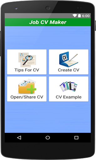 Job CV Maker & Portfolio Maker screenshot