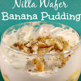 Nilla Wafer Banana Pudding