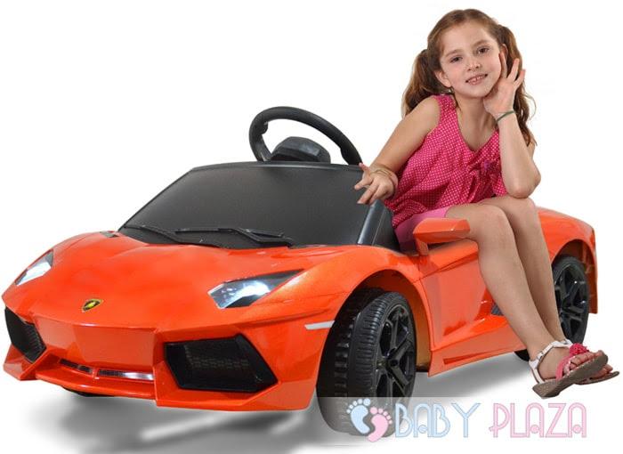 Siêu xe oto điện Rastar Lamborghini 81700 (LP700-4) cam