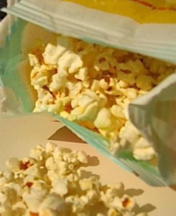 Homemade Microwave Popcorn  And Seasoning Recipe