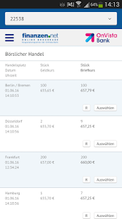 finanzen.net Broker Screenshot