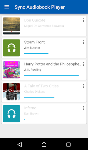 Sync Audiobook Player
