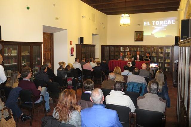 Presentacion libro El Torcal de Juan Ignacio Amador Tobaja