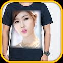 T shirt design photo frames icon