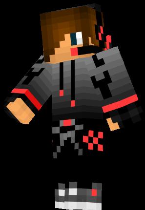 Roter Junge Mit Headset Nova Skin