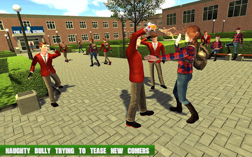 High School Gangster Bully Fights Karate Girl Game 1.1 screenshots 5