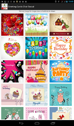 Greeting Cards Chat Social