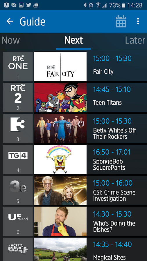 Saorview- screenshot