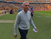 Kaizer Chiefs coach Ernst Middendorp. File photo.