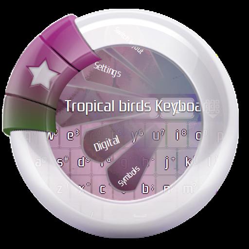 个人化の熱帯の鳥 GO Keyboard LOGO-記事Game