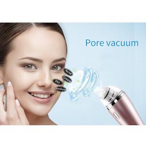 Aparat Cu Vacuum Pentru Curatarea Tenului, Acnee, Puncte Negre, Riduri oferta reducere 4