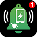Charger Removal and Full Battery Charged Alarm icon