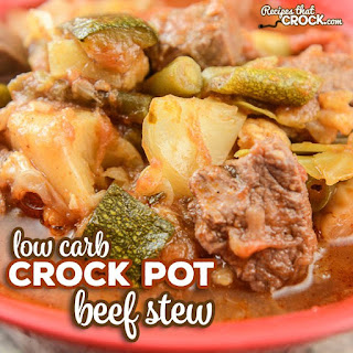 Slow Cooker Beef Stew (Low Carb).