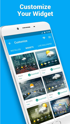 Real-time weather forecasts 10.0.0.2001 screenshots 6