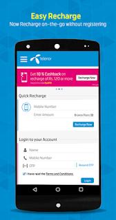 My Telenor India–Easy Recharge screenshot 00