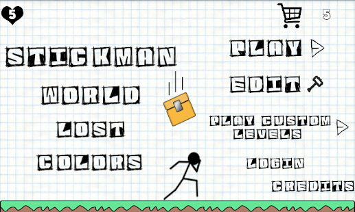 Stickman World - Lost Colors - náhled