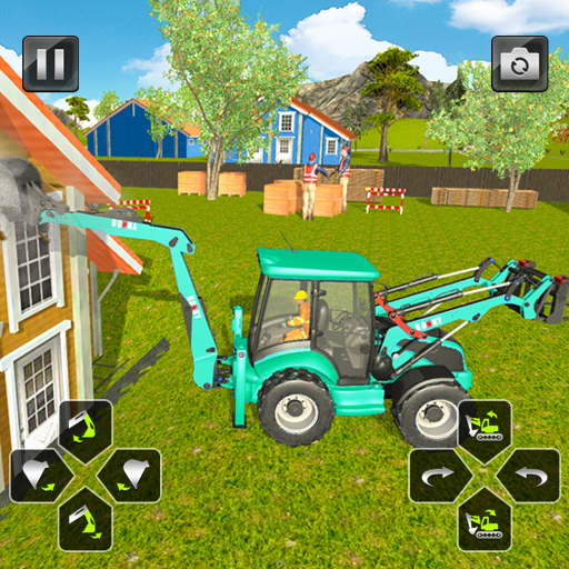 City Construction Heavy Excavators Simulator 3d Aplicacions En