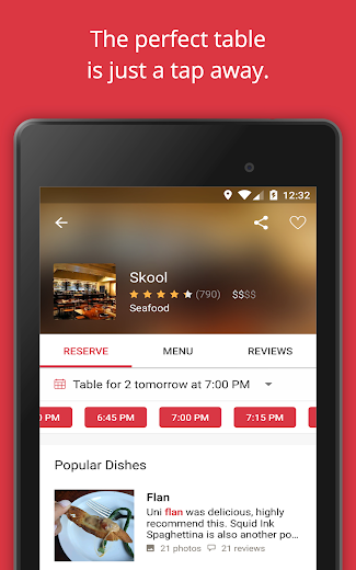 Screenshot 14 for OpenTable's Android app'