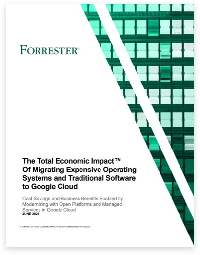 Forrester landing page book cover