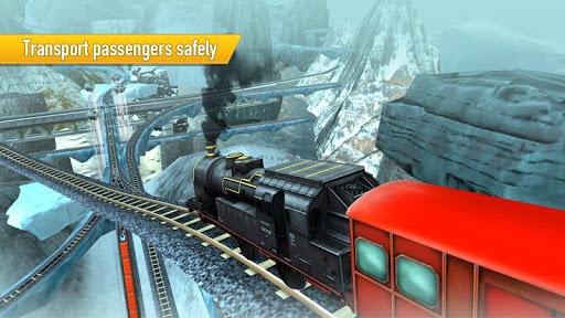 Train Simulator Uphill Drive apkpoly screenshots 4