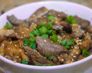 Asian Essentials: Beef & Mushroom Noodle Bowl