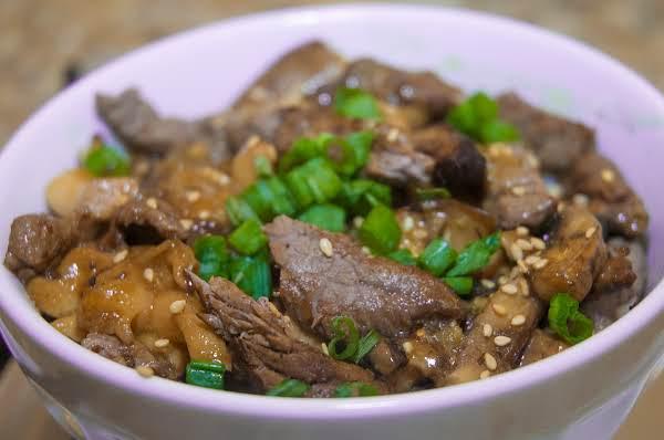 Asian Essentials: Beef & Mushroom Noodle Bowl Recipe