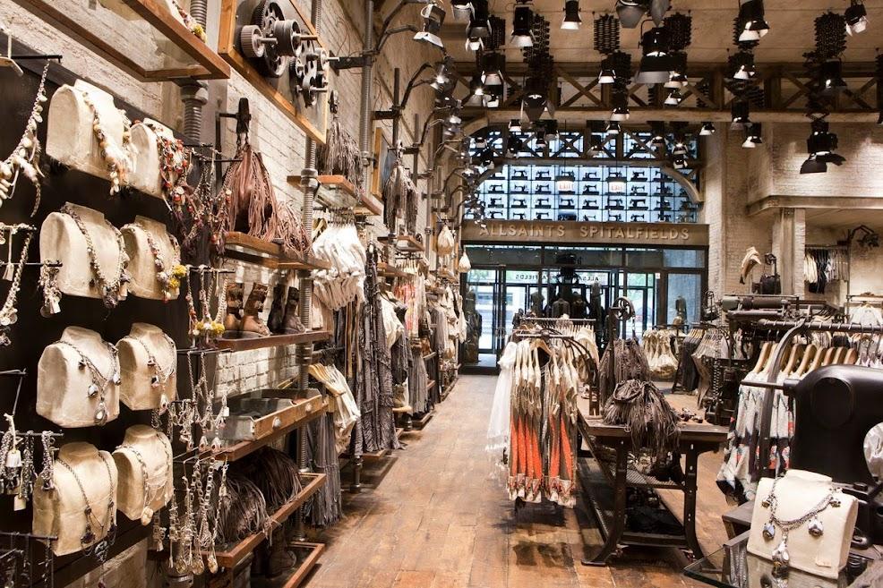 thiết kế shop phong cách vintage