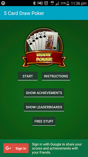 Five Card Draw Poker - Free  screenshots EasyGameCheats.pro 1