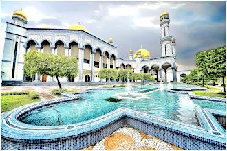 Photo: Jame Asr Hassanil Bolkiah Mosque