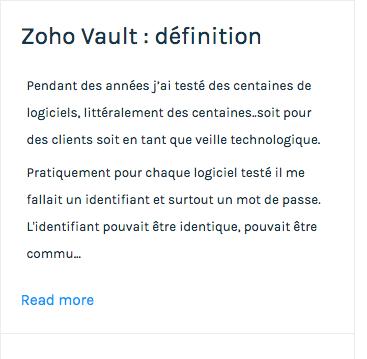 Zoho Sites : traduire les libellés, messages et boutons