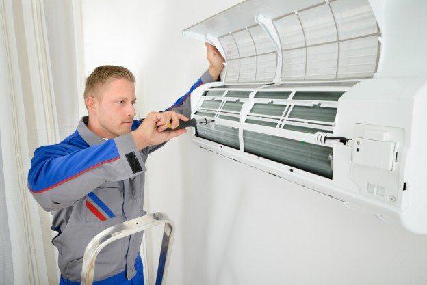 Hasil gambar untuk air conditioner installation