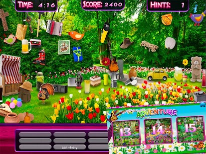 Hidden Objects Spring Gardens - Puzzle Object Game- screenshot thumbnail