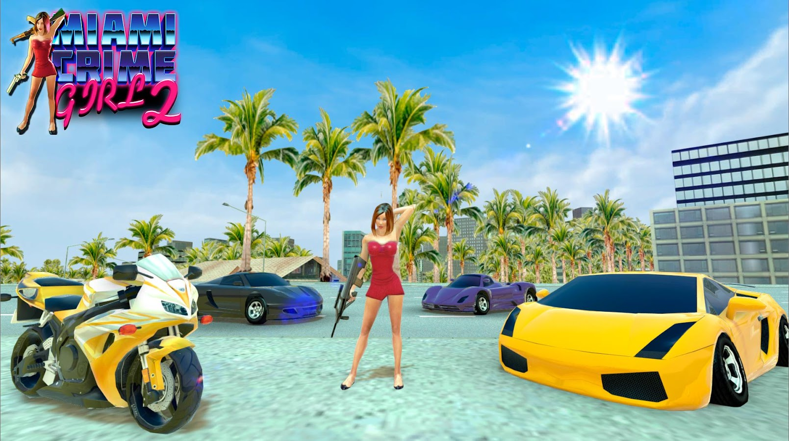 Miami Crime Girl 2- screenshot